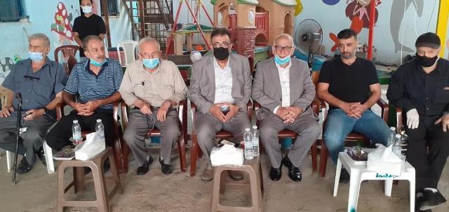 الشعبية في لبنان تقدم العزاء بالمناضل أبو حسن الصاعقة
