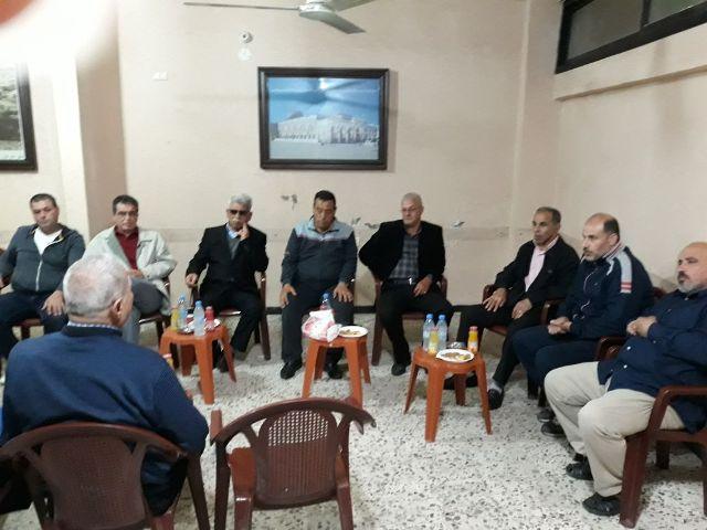 الشعبية في منطقة صيدا تزور لجنة القاطع الخامس، حي صفورية، في مخيم عين الحلوة