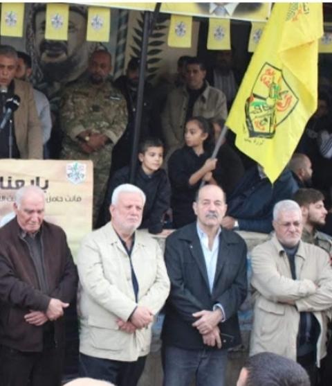 الشعبية في صيدا تشارك حركة فتح في إضاءة شعلتها الـ54