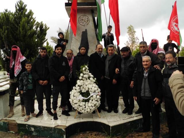 الشعبية في صيدا تقيم مسيرة جماهيرية احتفاء بذكرى انطلاقة الجبهة الـ 51