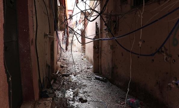 بالفيديو... المعاناة والخسائر في مخيم عين الحلوة