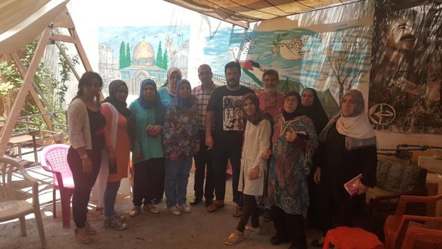 لجان المرأة الشعبية الفلسطينية تلتقي وفدًا من الحزب الشيوعي الإسباني