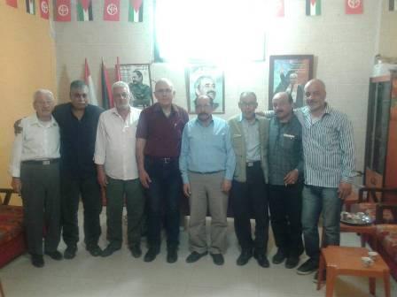 الشعبية في صيدا تلتقي وفدًا من الصليب الأحمر والأسير المحرر أحمد أبو السعود