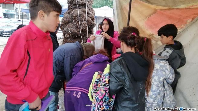 سوق الألف في صيدا يساعد الفقراء