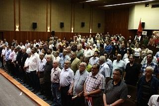 احتفال تضامني مع كوبا، وفنزويلا، وفلسطين، رفضاً للحصار وتنديداً بصفقة القرن في صيدا
