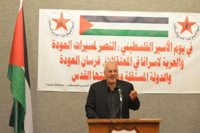 أبو علي حمدان: مسيرات العودة تؤكد أن الصهاينة لن ينعموا بأرض فلسطين مازال الفلسطينيون لاجئين