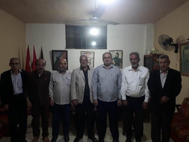 الشعبية في صيدا تستقبل وفدًا من حركة حماس