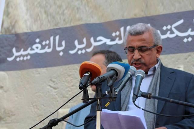 أسامة سعد : نواصل النضال مع الشعب والشباب من أجل التغيير