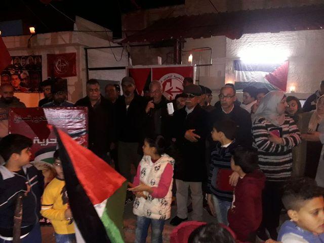 الشعبية في صيدا تحتفي بالذكرى الثانية لاستشهاد البطل عمر النايف