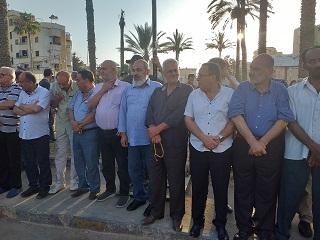 وقفة استنكارية لمؤتمر البحرين في صيدا
