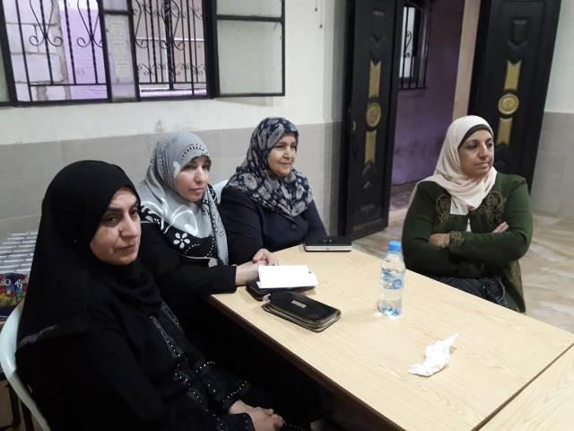 لجان المرأة الشعبية الفلسطينية في صيدا تقيم ورشة عمل