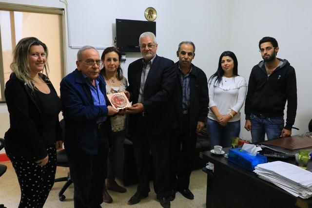 المكتب الإعلامي للجبهة الشعبية لتحرير فلسطين في لبنان يكرم