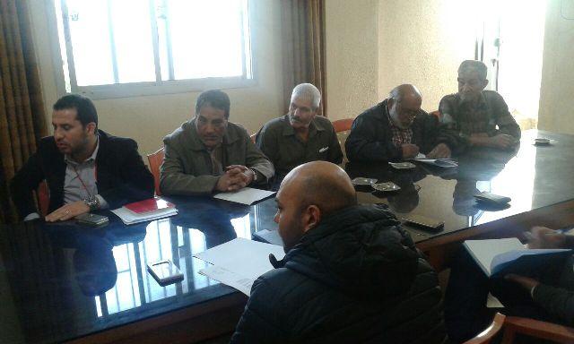 وفد من الصليب الأحمر الدولي يلتقي اللجنة الشعبية لمخيم نهرالبارد