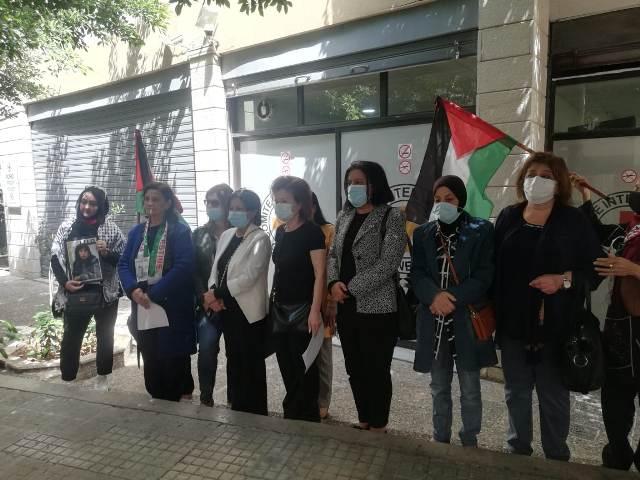 المركز الإقليمي العربي في الاتحاد النسائي الديمقراطي العالمي يتضامن مع الأسرى والأسيرات في السجون الصهيونية