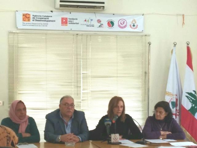 نساء وعمال لبنان وفلسطين يدينون تكريم المتصهينات ويطالبون الحكومة بموقف واضح مما جرى
