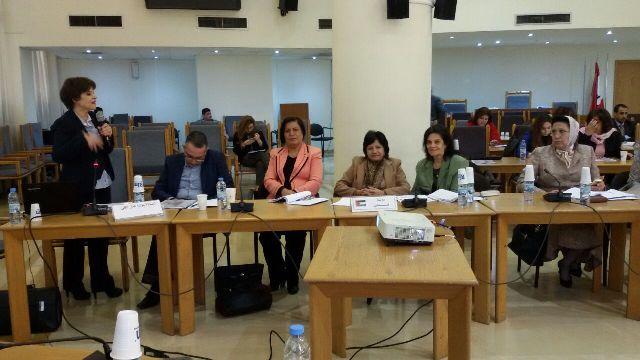 ورشة عمل في المجلس النيابي حول المرأة .