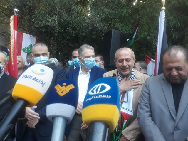 الشعبية في لبنان تشارك بإحياء ذكرى مجزرة صبرا وشاتيلا