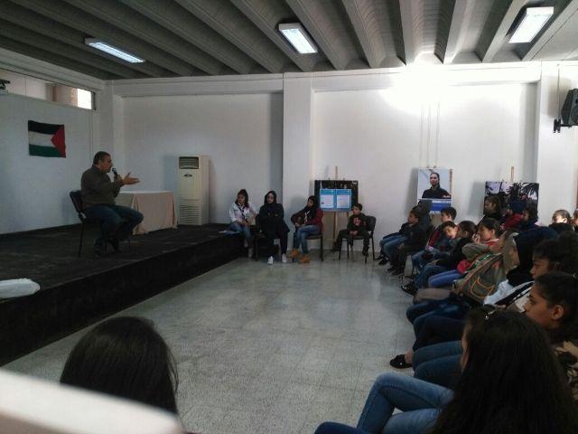 كشاف الشباب الوطني نظم لقاء تضامنيا مع القدس في الميناء- محمد سيف