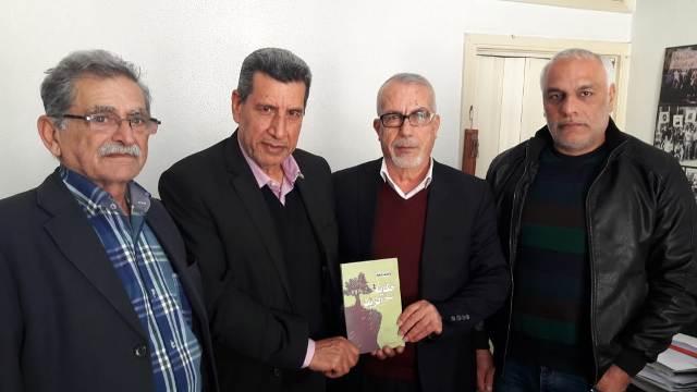 صفا يستقبل لجنة الأسرى والمحررين للجبهة الشعبية لتحرير فلسطين في لبنان