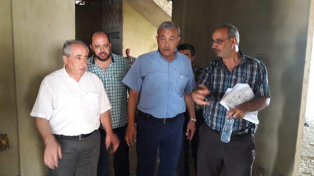 رئيس جمعية الهلال الأحمر الفلسطيني يزور الدكتور يونس الخطيب