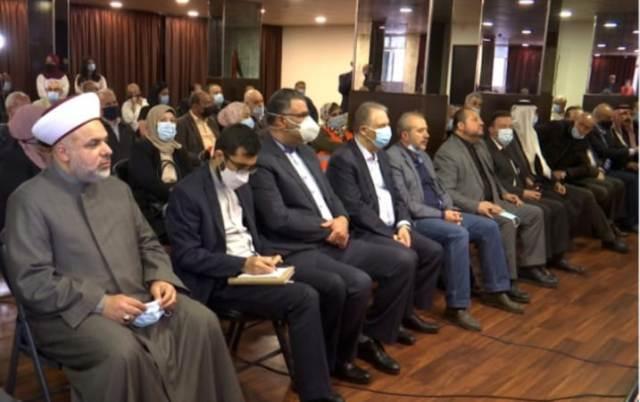 لقاء وطني فلسطيني لبناني تضامنا مع اهلنا في القدس في سفارة فلسطين في بيروت