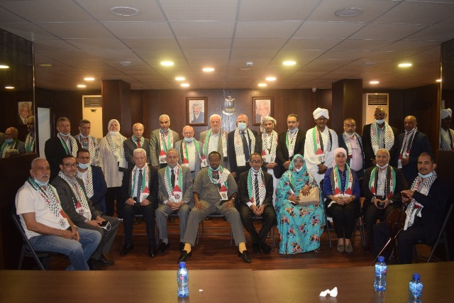 الشعبية تشارك في استقبال وفد الأحزاب والشخصيات العربية للتضامن مع الشعب الفلسطيني