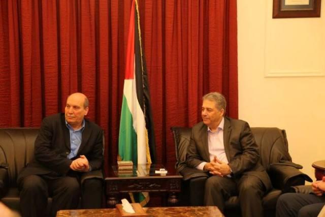 اجتماع السفير الفلسطيني والشعبية يبحث تطورات اليرموك واوضاع نهر البارد