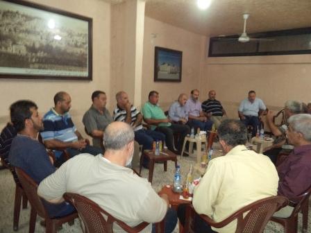 الشعبية في صيدا تلتقي مجلس شورى بلدة صفورية ولجنة صفورية