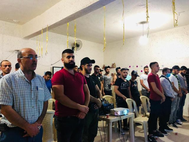 منظمة الشبيبة الفلسطينية في بعلبك تحيي ذكرى استشهاد غسان كنفاني