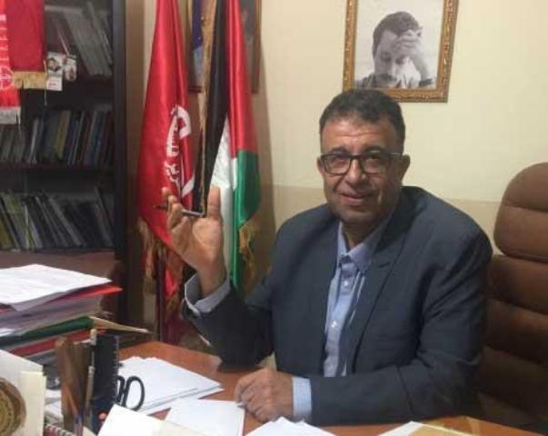 عبد العال: رسالة سعدات مبادرة لوضع إستراتيجية تحررية فلسطينية