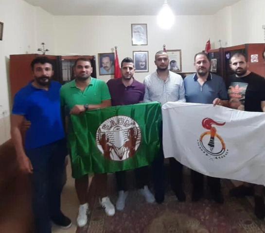 السكرتاريا العامة لمنظمة الشبيبة الفلسطينية تستقبل وفدا من اتحاد الشباب الديموقراطي القبرصي (EDON