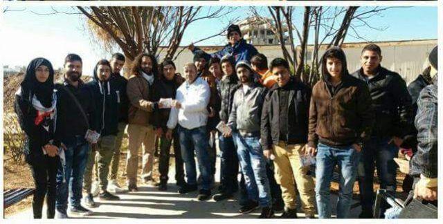 حملة المقاطعة  في مخيم نهر البارد في جولتها الثالثة