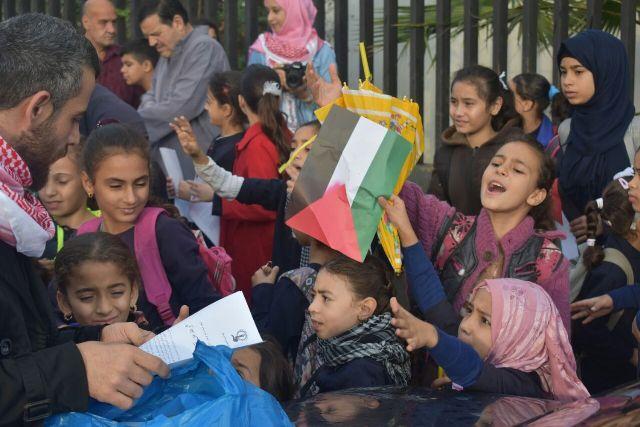 منظمة الشبيبة الفلسطينية في لبنان تقيم يومًا فلسطينيًا لمناسبة وعد بلفور