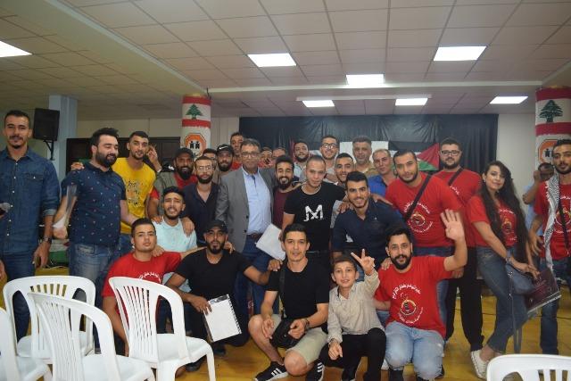 في اختتام المخيم الشبابي السنوي عبد العال: أن تكون فلسطينيًّا معناه أن تقدم طلب انتساب إلى فكر الحكيم، ودم ( أبو علي) وإبداع غسان
