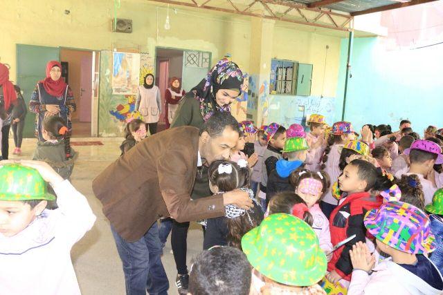 منظمة الشبيبة الفلسطينية في بيروت تزور روضة أبناء القسام