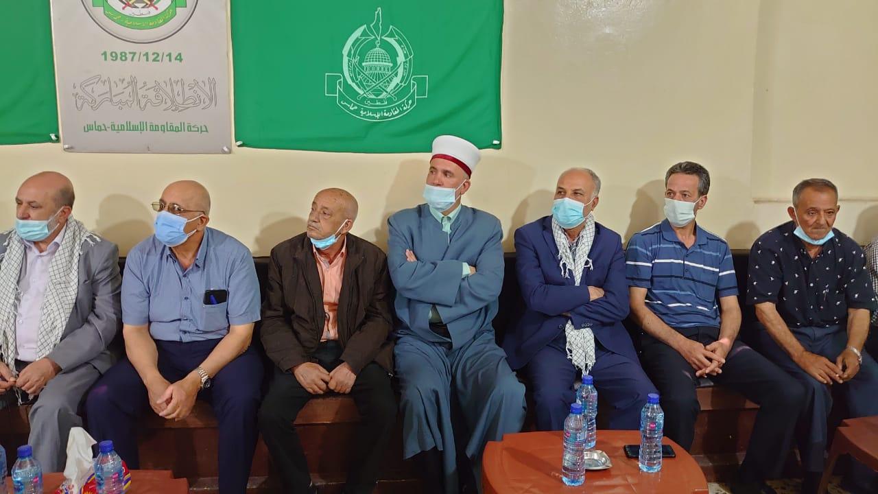 وفد من حزب الله يزور مخيم الجليل متضامناً مع الشعب الفلسطيني ومقاومته