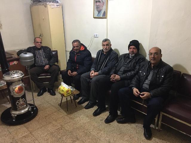 الجبهة الشعبية لتحرير فلسطين تلتقي الجبهة الشعبية- القيادة العامة في البقاع