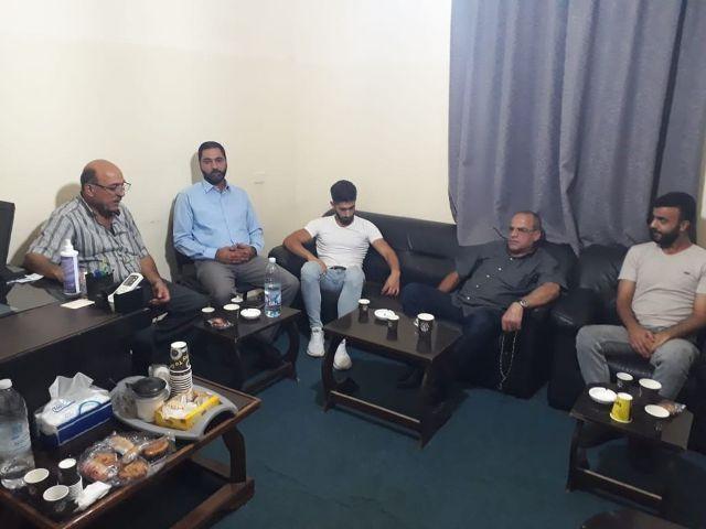 الجبهة الشعبيه لتحرير فلسطين تلتقي قيادة حماس في بعلبك