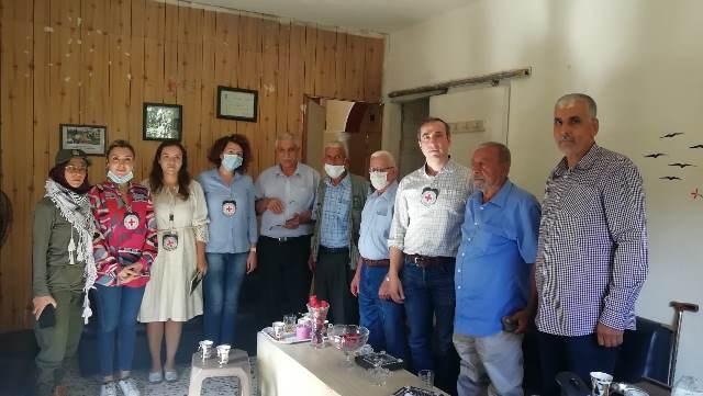 اللجان الشعبية تلتقي رئيس وأعضاء بعثة الصليب الأحمر الدولي في الشمال