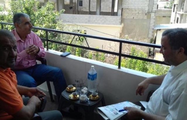 وحدة الدعم القانوني لقوات الأمن الوطني في لبنان  (فرع الشمال) تزور  الإخوة في لجنة المتابعة للجان الشعبية في الشمال