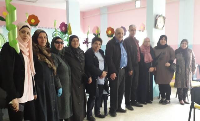 اللجان الشعبية تلتقي الاتحاد العام للمرأة الفلسطينية في الشمال