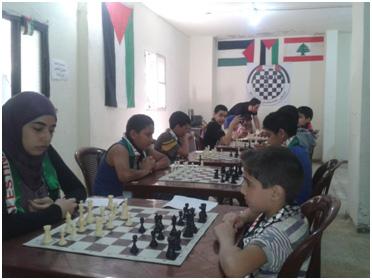 الملتقى الفلسطيني للشطرنج يحيي الذكرى السادسة والستين لاحتلال فلسطين