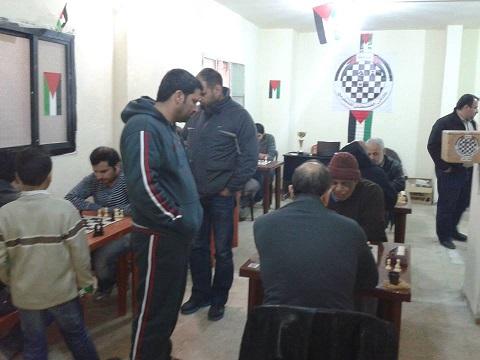 نادي التنمية اللبناني بطل الملتقى الفلسطيني للشطرنج
