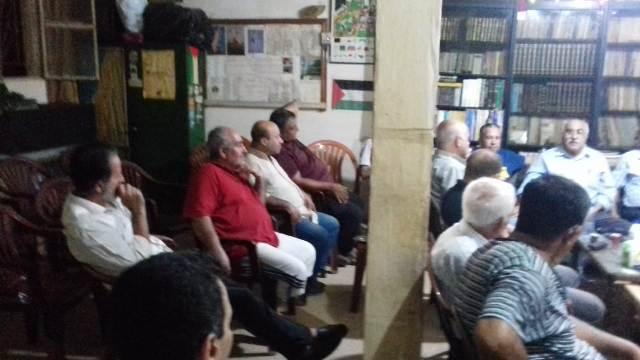 ندوة حوارية حول الواقع الفلسطيني في مخيم شاتيلا