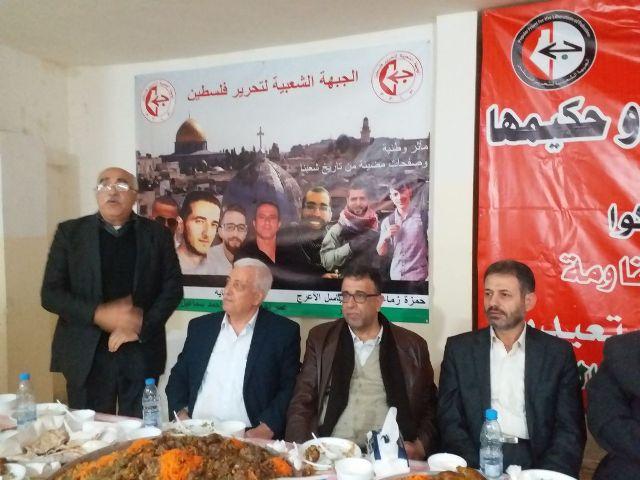 الشعبية في مخيم شاتيلا تحتفي بالذكرى الثانية لاستشهاد القائد عمر النايف