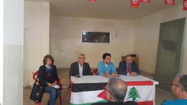ندوة حواريّة للجنة الحوار اللبناني الفلسطيني في مخيم شاتيلا