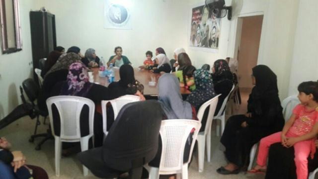 ندوة سياسية في مخيم شاتيلا