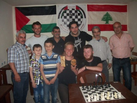 الملتقى الفلسطيني للشطرنج يحي عيد العمال بدورة شطرنج