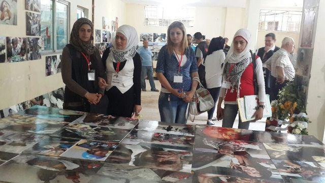 منظمة الشبيبة الفلسطينية، ومركز الشباب الفلسطيني ينظمان معرضاً للصور