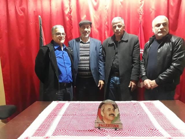 وفد مغربي يزور شاتيلا ويلتقي الجبهة الشعبية لتحرير فلسطين